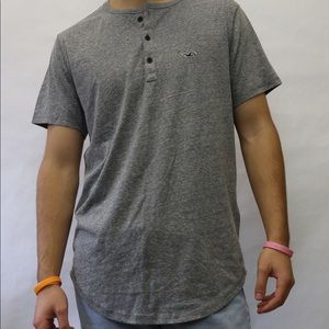 Gray Hollister T-shirt